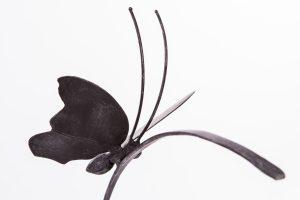 Schmetterling auf dem Halm