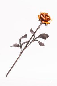 Kovaná růže - velká